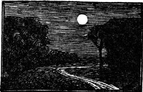 wood-engraving of the Full Moon